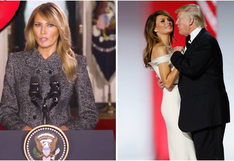 Melania's last days in the White House 'as she snubbed staff'