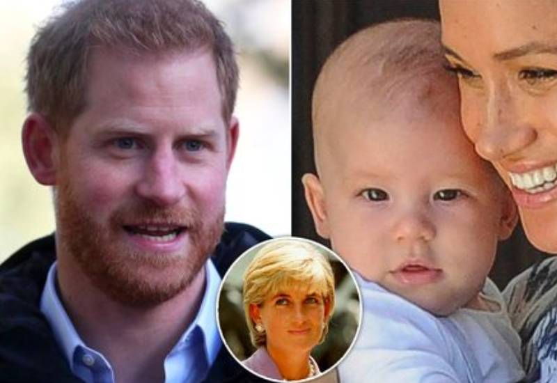 Prince Harry reveals Archie's first words were 'Grandma Diana'