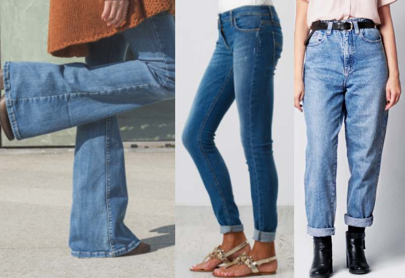 The right jeans for your body type