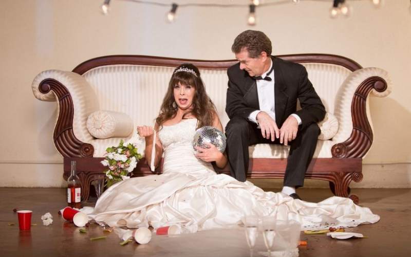 Man's awkward apology to wife after she finds his shaming post about her wedding dress