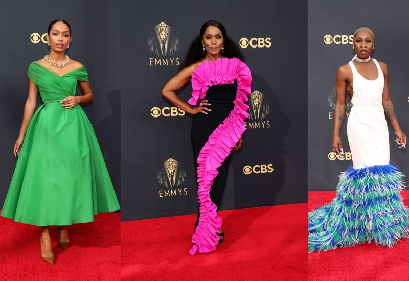 Emmy Awards 2021: The best from the red carpet