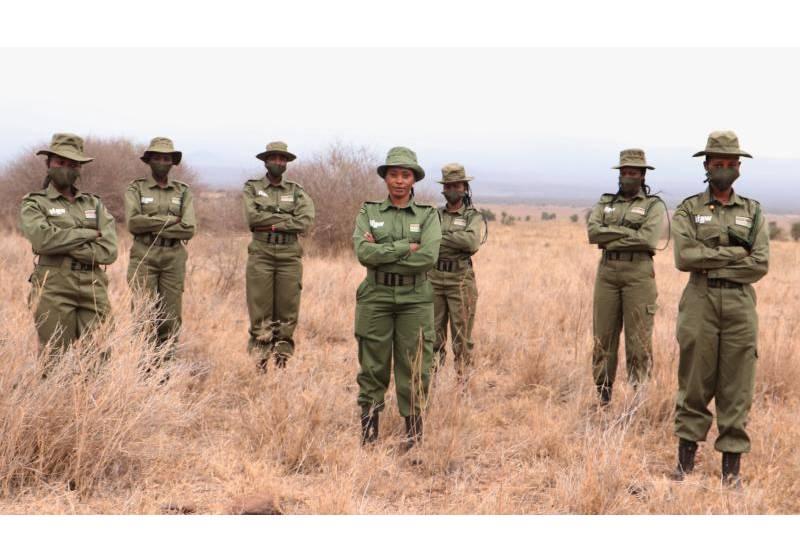 Meet the all-woman Maasai ranger unit in Kajiado County