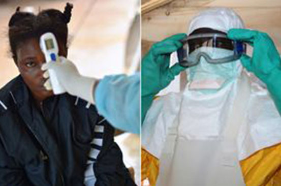 Three people die in Ebola outbreak after falling ill with vomiting and diarrhoea