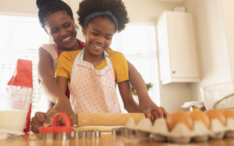 Five easy snacks you can make with your child