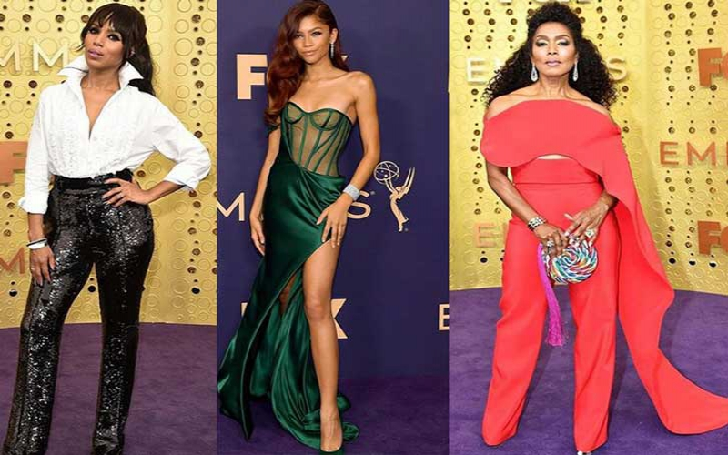 Red carpet looks at the 2019 Emmy's