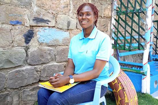 Woman creates safe space as respite for Dandora children