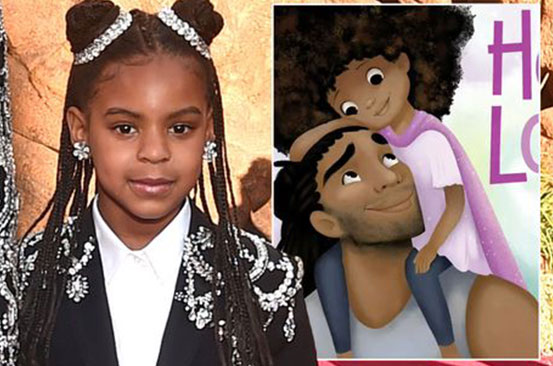 Beyoncé's daughter Blue Ivy making money already as she narrates Hair Love audiobook
