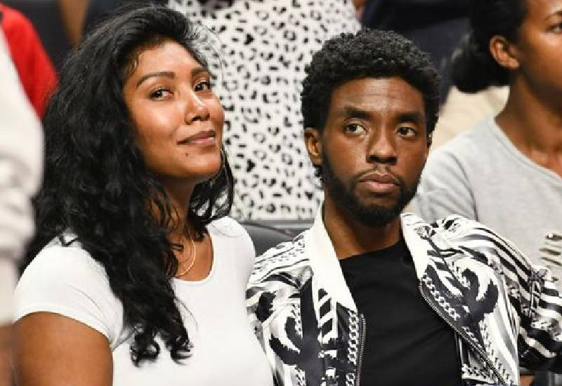 Chadwick Boseman was diagnosed with cancer only a year into relationship with wife Taylor