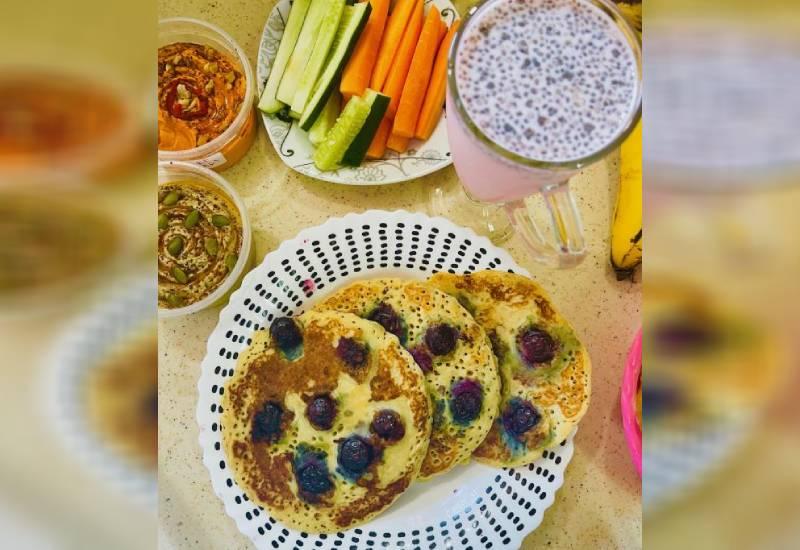 Easy recipe: Delicious berry pancakes