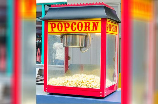 Kitchen gadget: Home popcorn machine