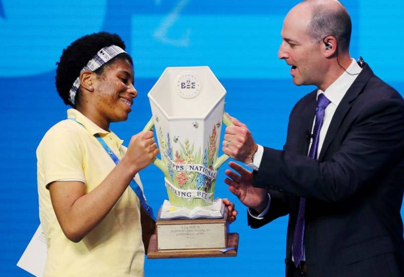 Zaila Avant-garde becomes the first African American to win U.S. spelling bee