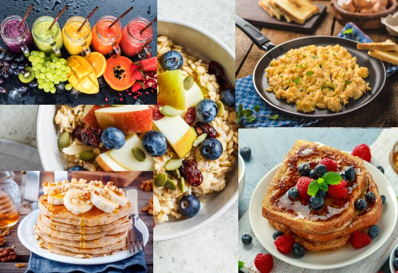 Easy breakfast ideas to help you kick start your day