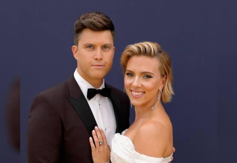 Scarlett Johansson and new husband Colin Jost planned secret wedding in 'few weeks'