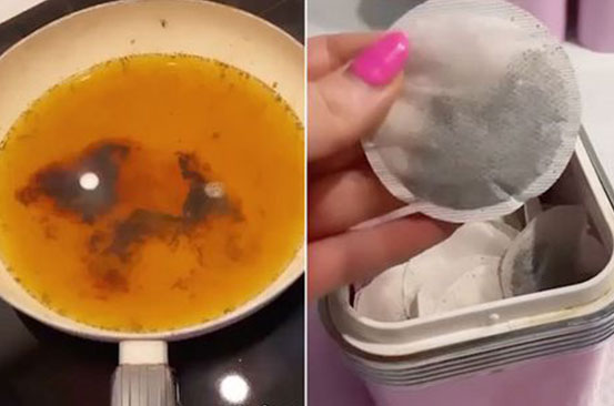 Simple cleaning hack to restore ruined kitchen pans