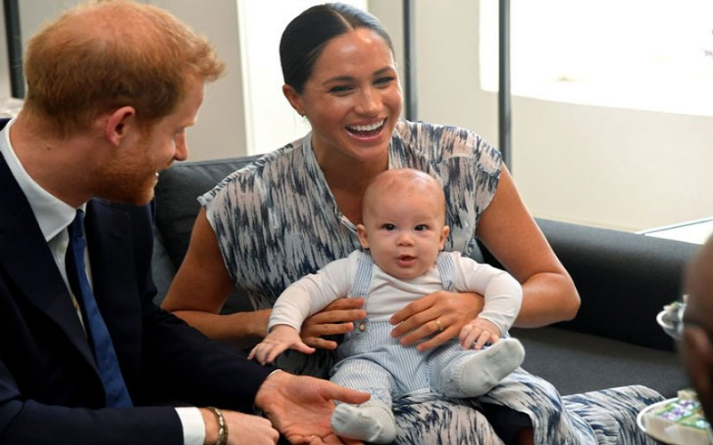 Baby Archie officially starts playgroup and mum Meghan Markle says he 'loves it'