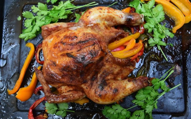 Easy recipe: Stuff your chicken with sweet peppers