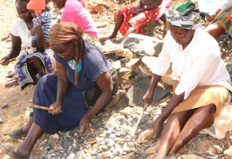 Women stone crushers of Nandi defying cultural stereotypes