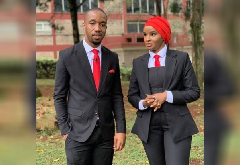 Couple goals: Lulu and Rashid's elegance during the BBI report launch