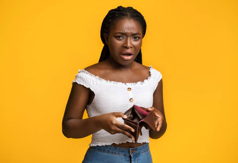 Five reasons why you are always broke