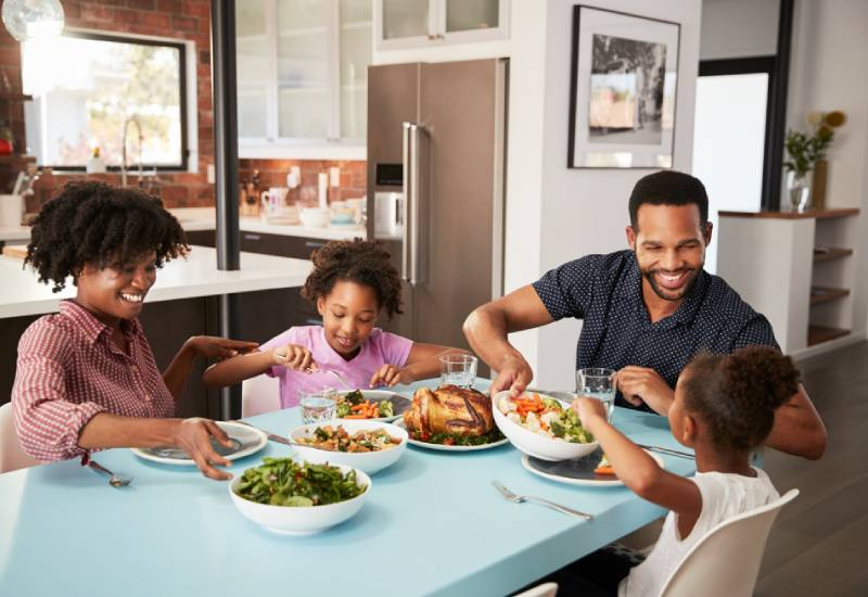 Five unexpected benefits of eating together as a family