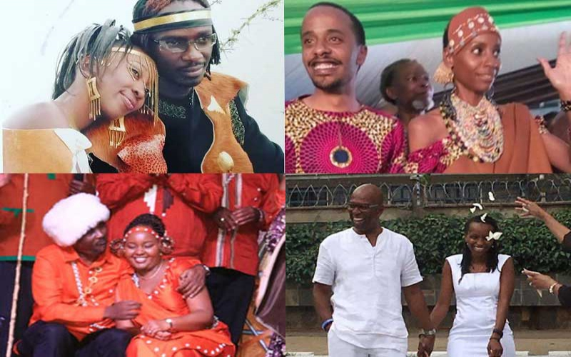 Four Kenyan women who've proven you don't need a white gown to have a dream wedding