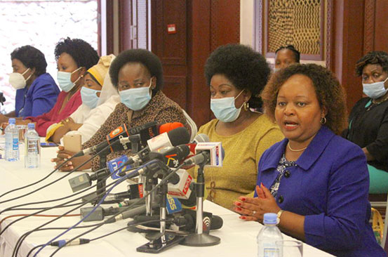 Women leaders demand equal sharing of posts