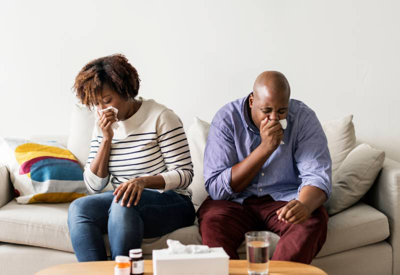 Five things you should clean after someone has been sick at home