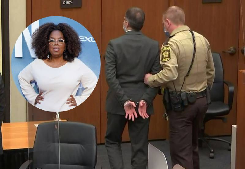 Oprah Winfrey 'in tears' as Derek Chauvin found guilty in George Floyd's killing
