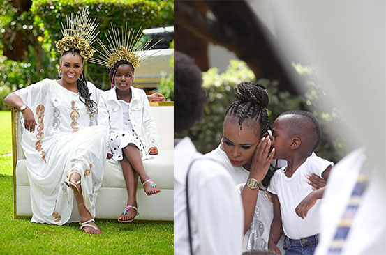 PHOTOS: Caroline Mutoko on embracing motherhood
