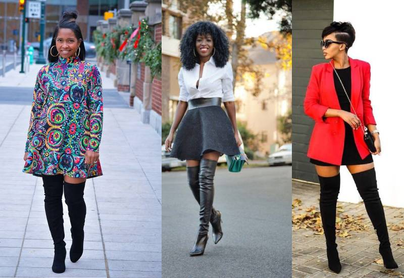 Tips on how to rock thigh high boots