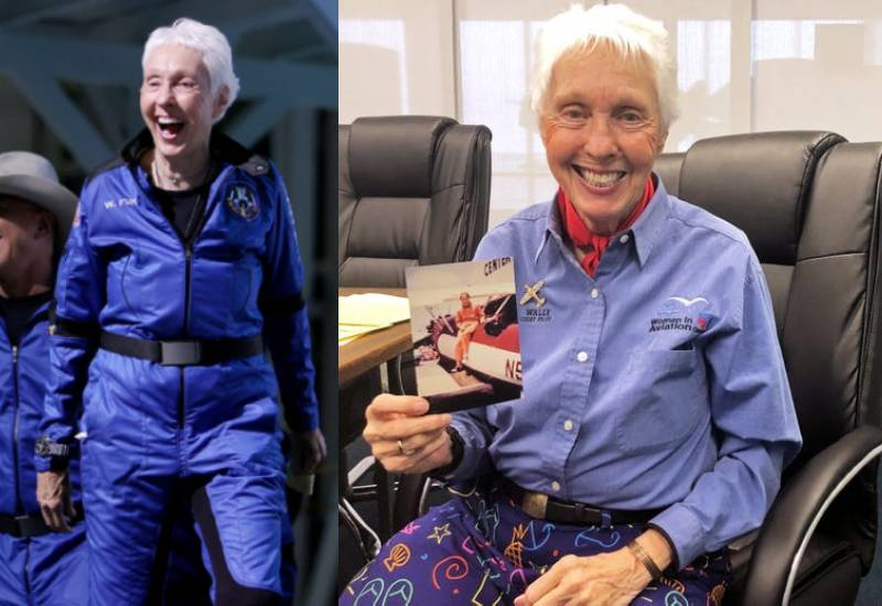 What you need to know about Wally Funk, 82-year-old aviator