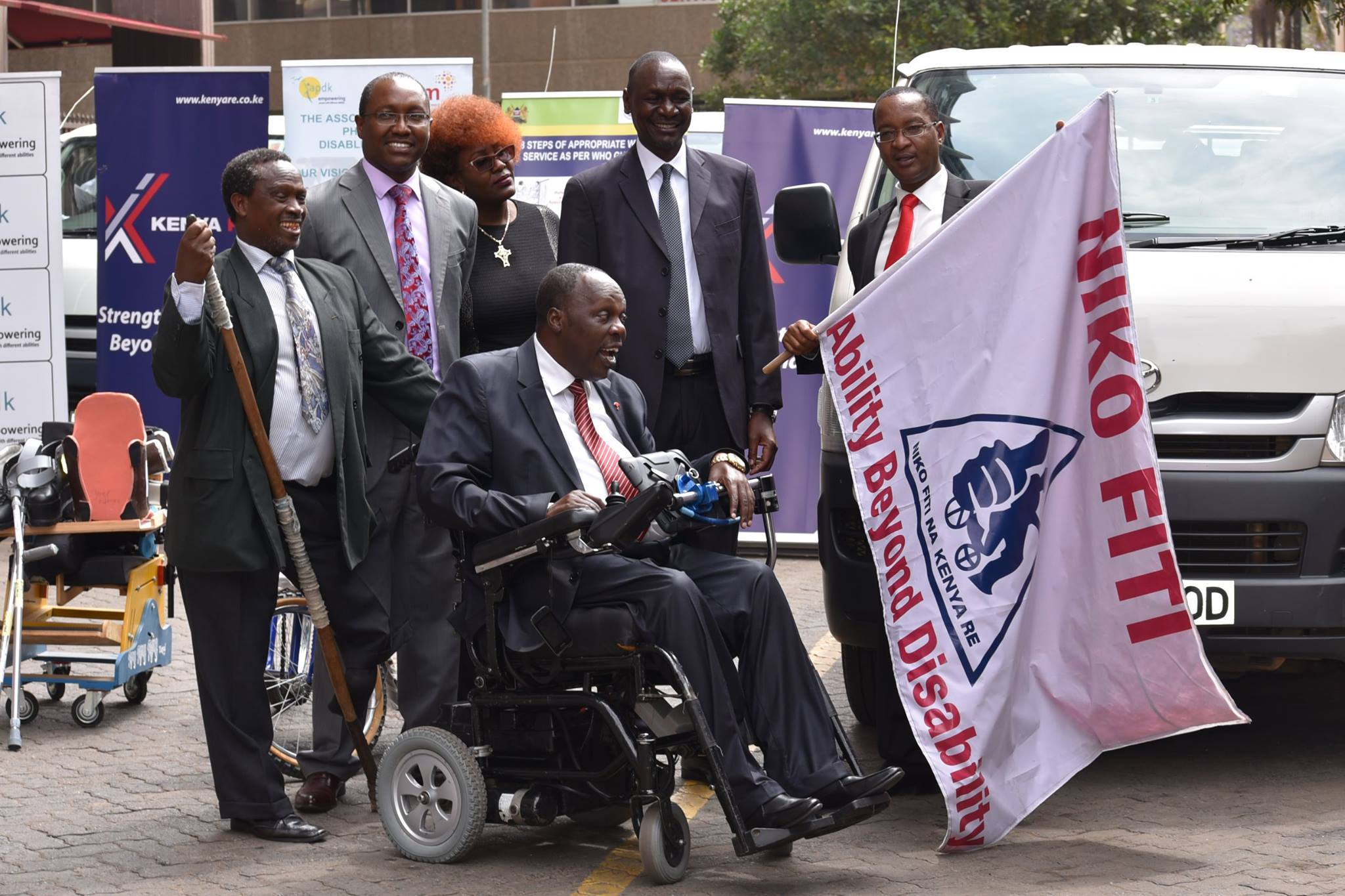 Kenya Re flags off Phase 2 of the Niko Fiti Campaign