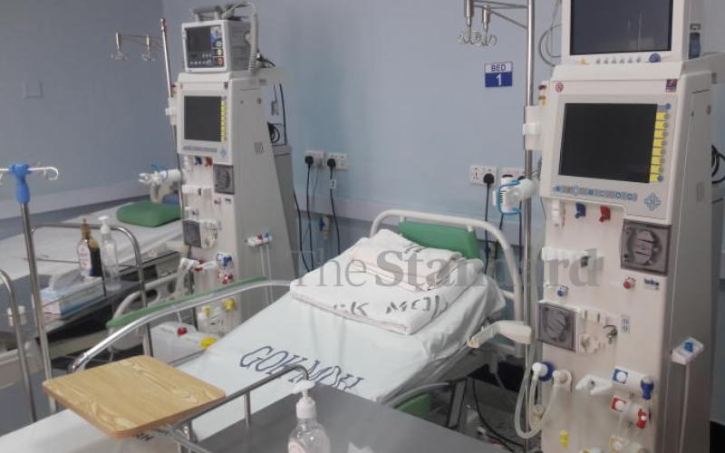 New dialysis centre saves patients from trips to Nairobi and Nakuru