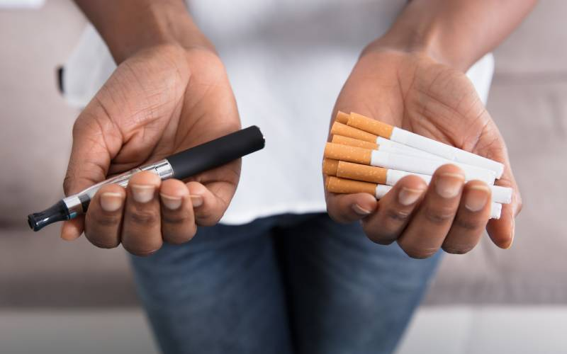 E-cigarettes not a better alternative