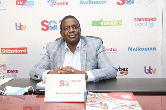 SG Deputy Chairman Julius Kipngetich,Standard Group