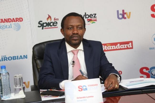 Standard Group Plc CEO Orlando Lyomu