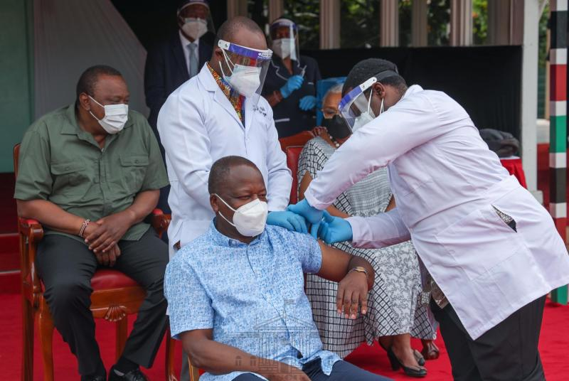 Be patient, don't panic: Kagwe tells Kenyans on Covid-19 vaccine
