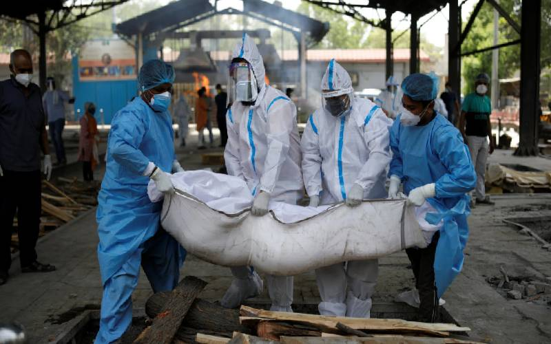 India sets a new global record for daily infections