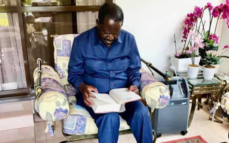 Raila: My three-week battle with Covid-19