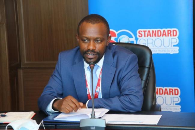 Standard Group CEO Orlando Lyomu