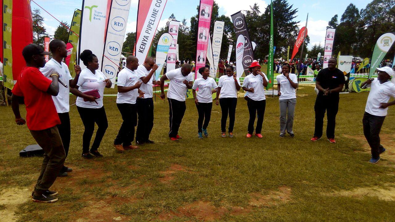 Standard Group staff during the event