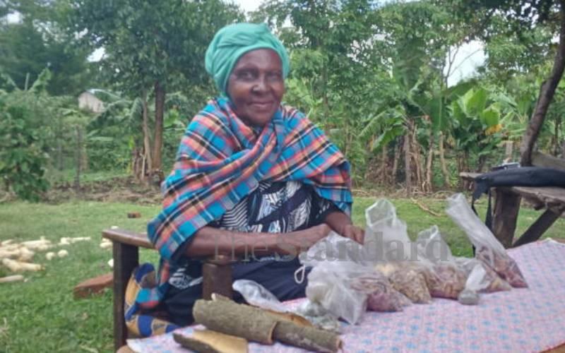 Harvesting of indigenous trees hurts supply of herbal medicine