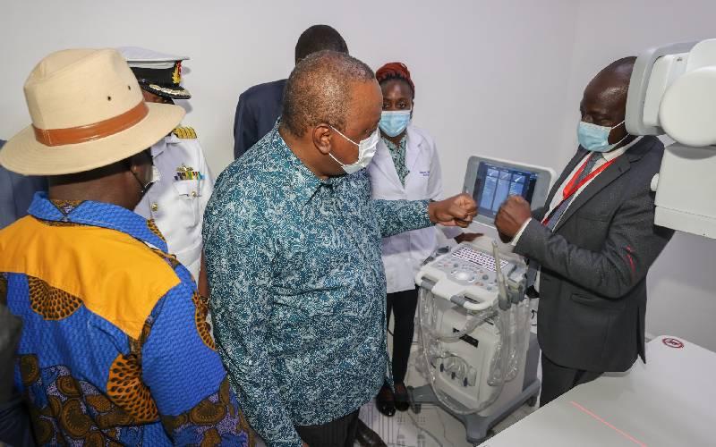President Uhuru opens Kibra Level 3 Hospital
