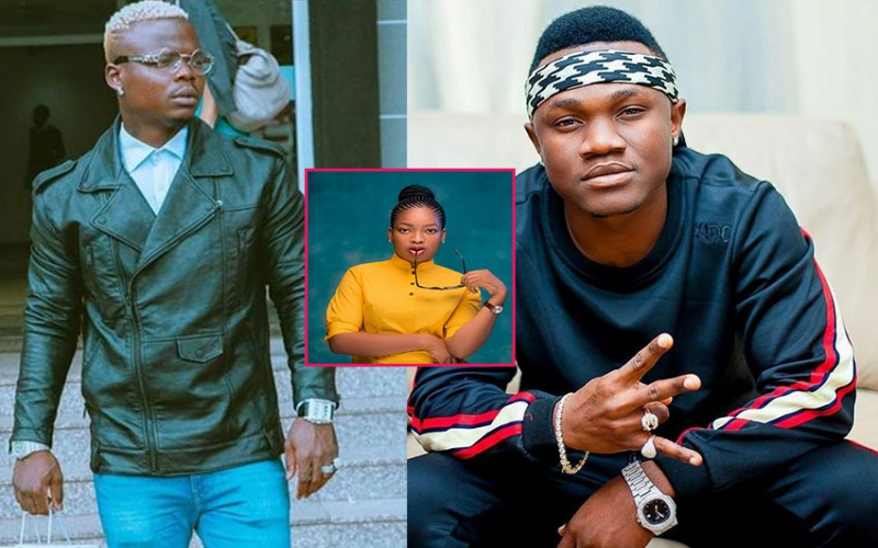 Harmonizes message to Mbosso as he mourns baby mama