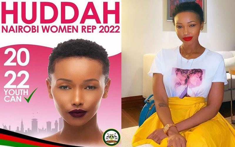 Huddah Monroe declares interest for Nairobi Woman Rep seat