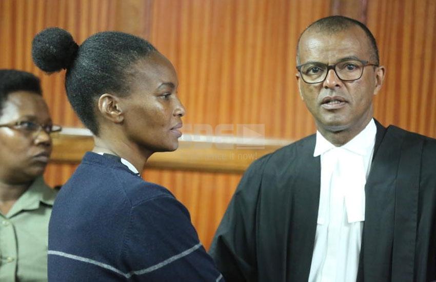 I am no longer a DPP - Sarah Wairimus lawyer Philip Murgor