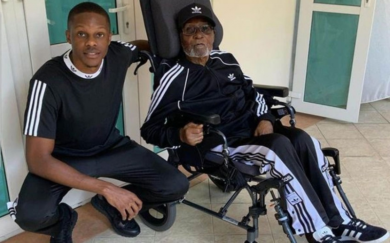 Mugabe's son shares final photos of father in hospital