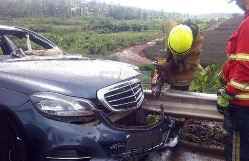 The late Wahome Gakuru was trapped for 40 minutes