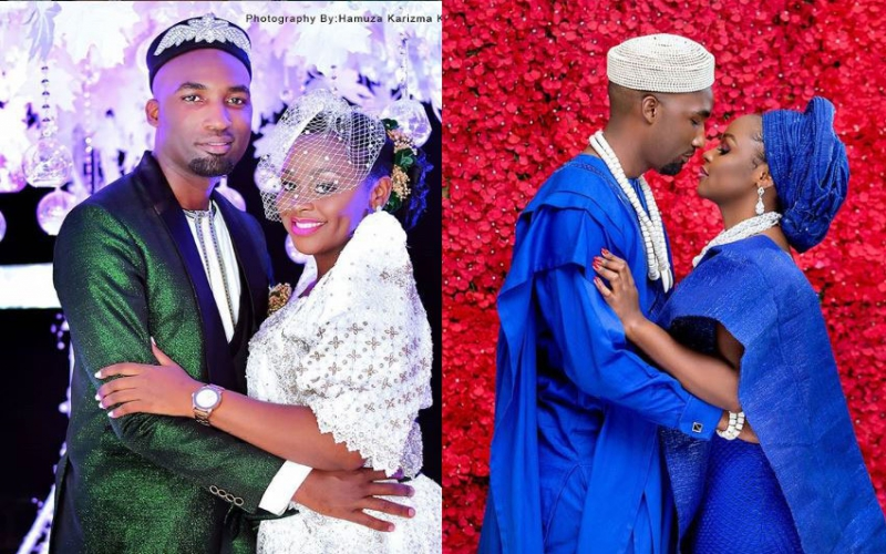 Wedding: Eddy Kenzo's ex brings Kampala to a halt