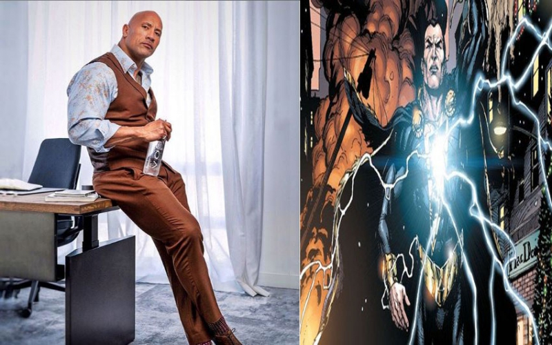 Dwayne Johnson set to debut in the world of superheroes